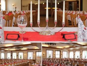 Hochzeitssaal Borken-Marbeck, Gasthaus, Saal für 160 Personen, Nordrhein-Westfalen