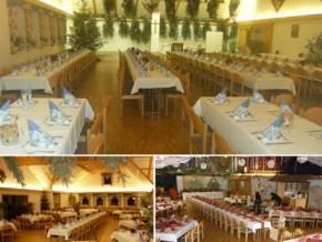 Hochzeitssaal Ettringen / Siebnach, Gasthaus, Saal für 200 Personen, Bayern