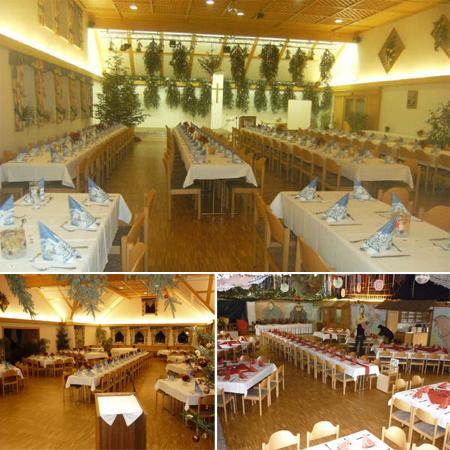 Hochzeitssaal Ettringen / Siebnach