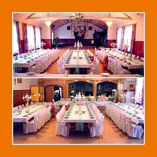 Festsaal, Saal für Hochzeiten