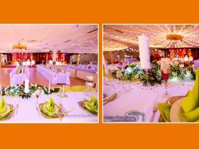 """Party-Deko im Restaurant """"Goldfisch"""" - einer Hochzeitslocation in Germersheim"""