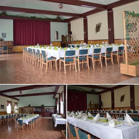 Hochzeitssaal Bad Liebenwerda OT Möglenz