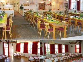 Hochzeitssaal Memmingen/Dickenreishausen, Gasthaus, Saal für 100 Personen, Bayern