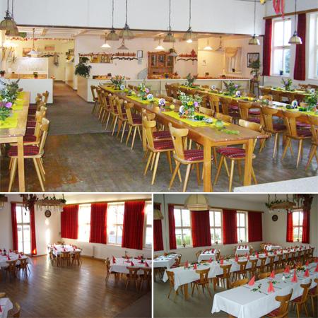 Hochzeitssaal Memmingen/Dickenreishausen