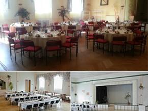 Hochzeitssaal Annaburg, Gasthaus, Saal für 200 Personen, Sachsen-Anhalt