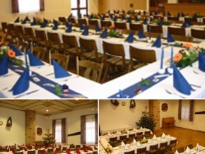 Hochzeitssaal Neu-Eichenberg, Gasthaus, Saal für 80 Personen, Hessen