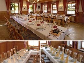 Hochzeitssaal Riedenburg – Deising, Gasthaus, Saal für 300 Personen, Bayern