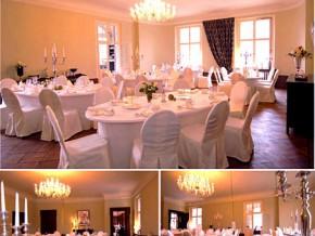 Hochzeitssaal Schloss Kartzow in der Nähe von Berlin und Potsdam