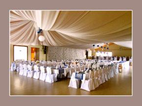 prächtige Hochzeitslocation Festhalle Aura an der Saale Bad Kissingen