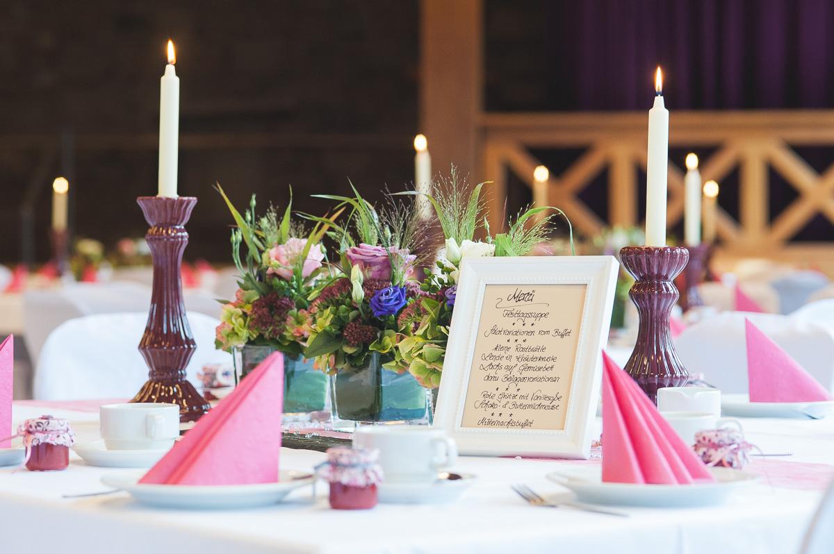 Catering Küche für Hochzeiten Bürgerhaus Franksche Scheune
