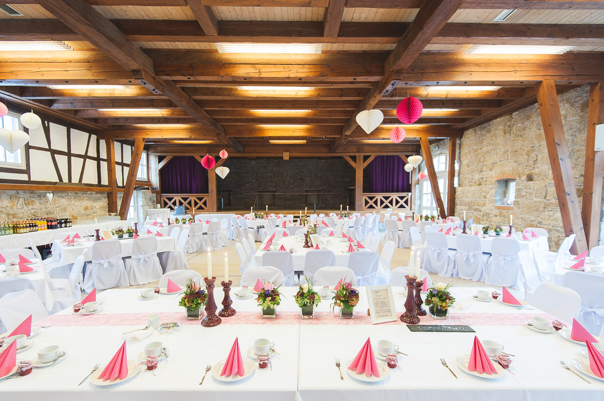 Hochzeitssaal Bürgerhaus Ilshofen 180 Personen