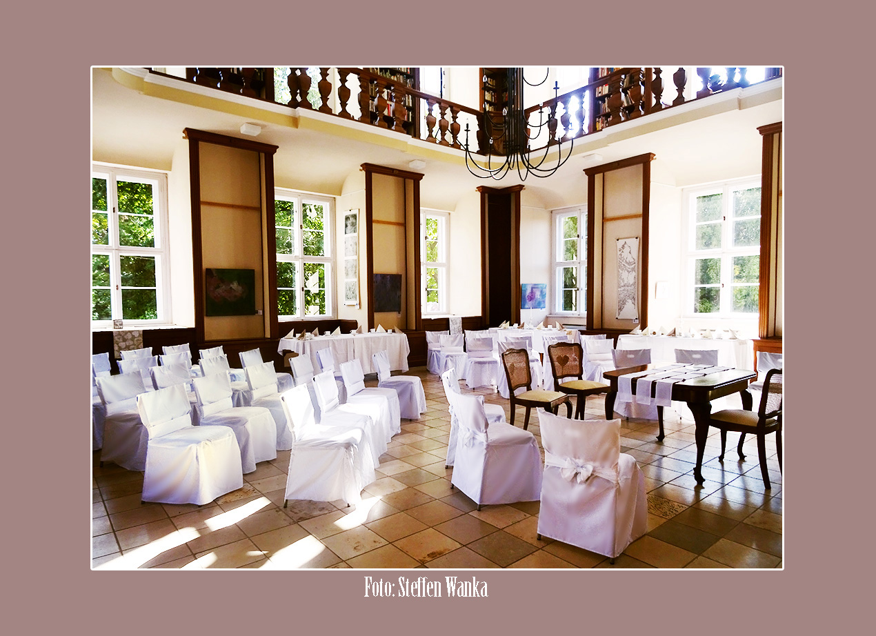 Schloss Ostrau in Petersberg - Hochzeitslocation und Trauung nahe Halle und Leipzig