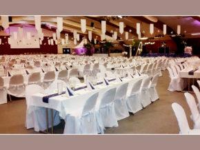 festliche Atmosphäre Heidmark-Halle Kapazität bis 800 Gäste