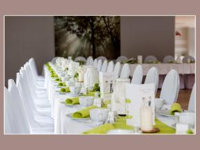 Hochzeitsbuffet Candle-Light-Dinner am Störitzsee Störitzland bei Berlin