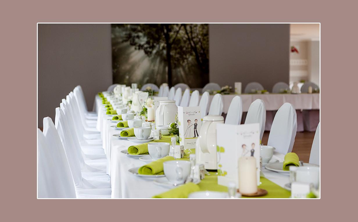 Hochzeits-Buffet und Candle-Light-Dinner am Störitzsee im Störitzland bei Berlin