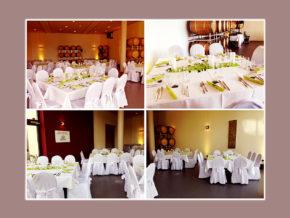 Hochzeitslocation BarriqueScheune Weingut Eppelmann Stadecken-Elsheim Umgebung Mainz