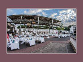Hochzeitslocation Frankfurt am Main Offenbach 3500 Personen Fredenhagen Festsaal Außenbereich