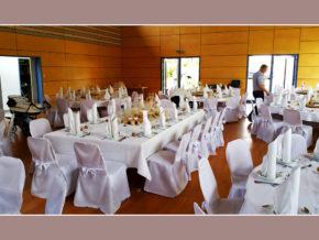 Hochzeitslocation Weinberghalle Mittelfischach Obersontheim Schwäbisch Hall Schwäbisch Gmünd