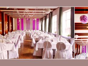 Hochzeitssaal Volkshaus Friedland Umgebung Neubrandenburg