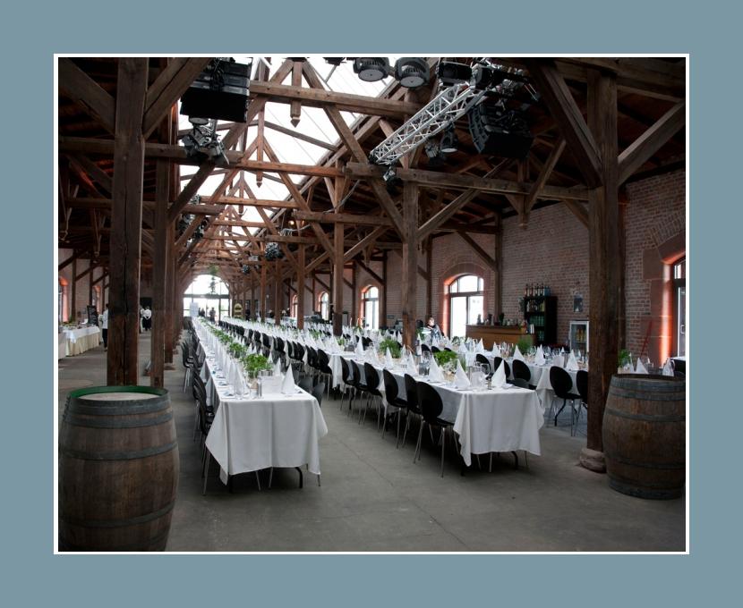 Eventlocation Bad Homburg Güterbahnhof 800 Personen Festhalle Hanau