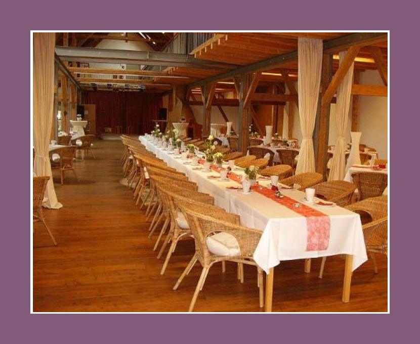 Festsaal Alter Obstkeller 200 Personen Hochzeitslocation Würzburg Mönchberg Bayern