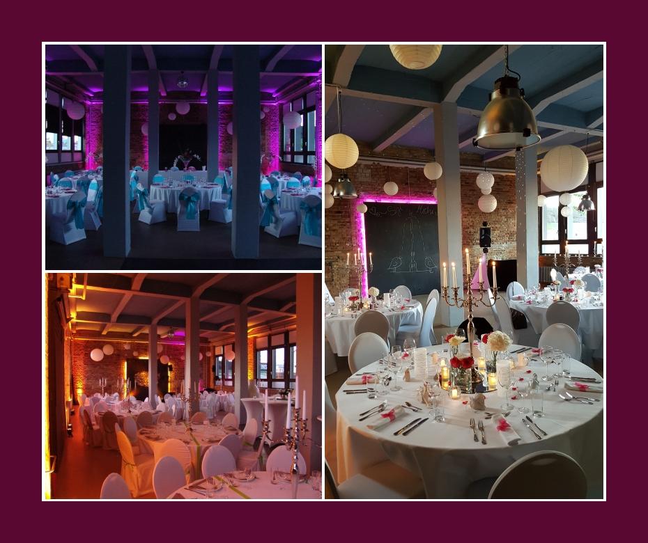 Frankfurt am Main Hochzeitsfeier Eventlocation Loft Eins 180 Personen Offenbach am Main