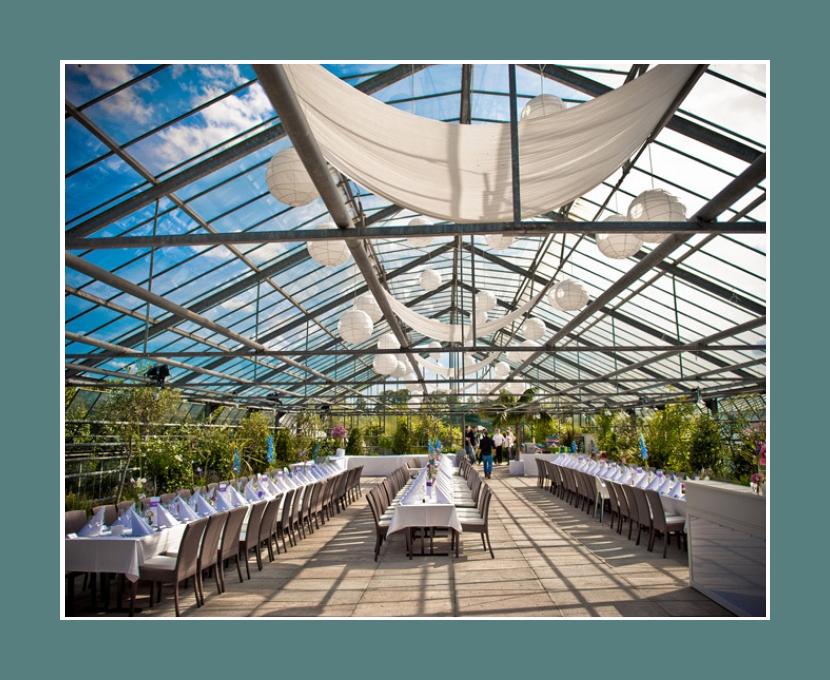 Frankfurt-Metropole Hochzeit Eventlocation 200 Personen Karben Glashaus