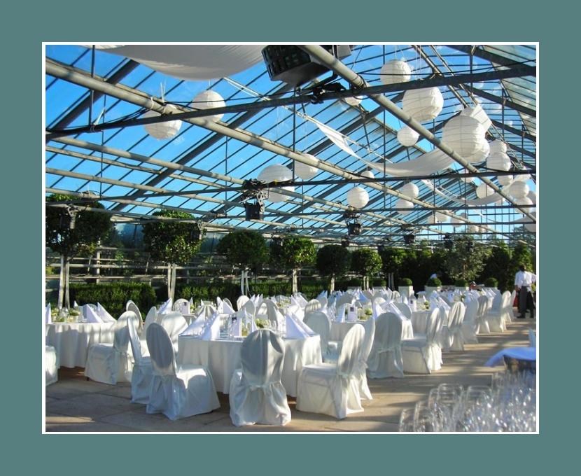 Glashaus Karben Hochzeitslocation Frankfurt am Main Bad Homburg Darmstadt 200 Personen