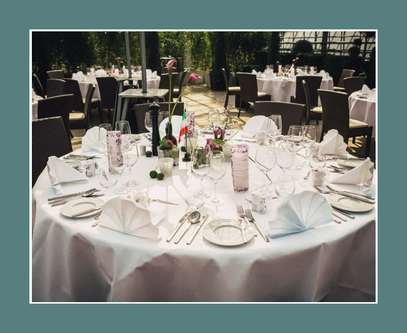 Hochzeitslocation Glashaus Karben Frankfurt am Main Bad Homburg Hanau 200 Personen Hochzeitsdeko