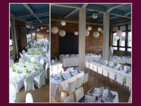Hochzeitslocation Loft Eins Frankfurt am Main Hanau Darmstadt 50 bis 180 Personen Hochzeitsdeko