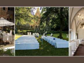Hochzeitslocation Schloss Liebieg 120 Personen Koblenz Mayen Andernach an der Mosel Hochzeitsdeko