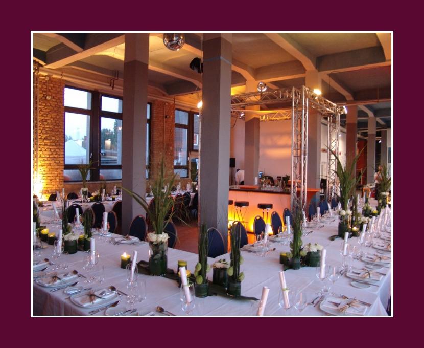 Loft Eins Frankfurt am Main Wiesbaden 180 Personen Hochzeit Feier Event Hanau