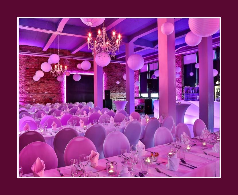 Loft Eins Hochzeitslocation Frankfurt am Main 180 Personen Tischdeko Offenbach am Main Hanau