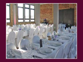 Tischdeko Service Loft Ein Hochzeitslocation Events Frankfurt am Main Rhein-Main-Region